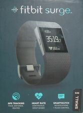 Fitbit Surge Small Size Fitness Watch with Heart Rate Monitor Black Brand New