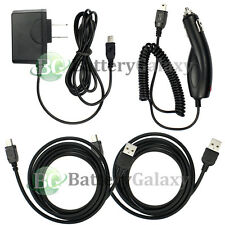 2 USB Cable+Car+Wall Charger for Motorola RAZR RAZOR V3 V3C V3i V3M V3R V3T V3XX
