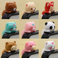 Cute Cartoon 3.5mm Anti Dust Earphone Jack Plug Stopper Cap For Mobile Phone