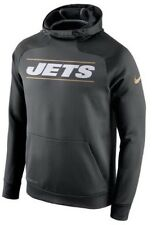 New Nike Championship Drive Hyperspeed New York Jets Hoodie Men's Small
