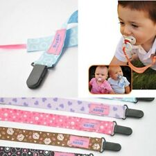 1PC Baby Child Novel Dummy Pacifier Soother Nipple Leash Strap Chain Clip Holder