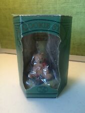 Hill Design Brown Bag Christmas Bear Cookie Stamp NIB