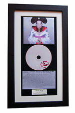 BJORK Homogenic CLASSIC CD Album GALLERY QUALITY FRAMED+EXPRESS GLOBAL SHIPPING