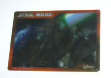 Star Wars Japanese Japan Glico Premium Lenticular Trading Card General Grevious