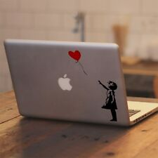 """Girl With The Red Balloon Decal Sticker for Apple Macbook Pro & Air 13"""" 15"""" 17"""""""