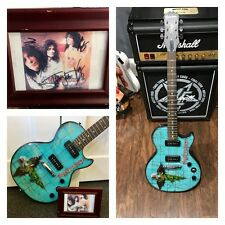Motley Crue Signed Autographed Custom Made Epiphone Dr Feelgood By All 4 Members