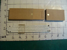 Vintage Pocket SLIDE RULE: ACU-MATH no 1200 w metal bridges, in made box