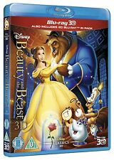 Beauty and the Beast 3D (3D + 2D Blu-ray, 2 Discs, Disney, Region Free) *NEW*