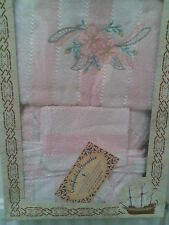Pink Ladies Peignoir size 48-50 + towel 50x100 + hand towel ideal Christmas Gift
