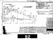 T-6 Texan blueprint plan drawings assembly component engineering build 1940 50s