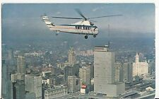 CD58.Postcard.Chicago Helicopter Airways.Sikorsky S-58C