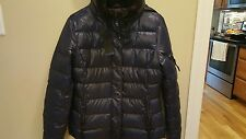 Womens S 13/NYC Navy Duck Down and Feather Jacket Medium