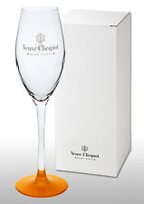 Veuve Clicquot Crystal Champagne Flute New & Boxed