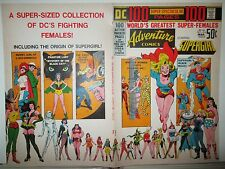 Adventure 416 Approval Cover Art 100-Pg. SUPERGIRL WONDER WOMAN BATGIRL Proof