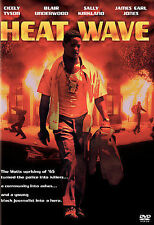 HEAT WAVE rare dvd 1960s era Watts Riots JAMES EARL JONES Cicely Tyson 1989