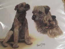 BORDER TERRIER  ~ MOUSE PAD by ROBERT MAY