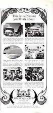 1967 Bahamas Balmoral Club at Cable Beach Nassau Bahamas PRINT AD