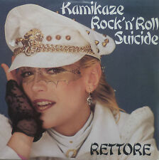 "7"" 1982 French press rare mint-I rettore: kamikaze rock 'n' roll suicide"