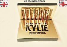 Kylie Jenner Compleanno Collection 6 Mini Rossetto Liquido Lucidalabbra Set Uk Stock