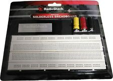 RadioShack Solderless Breadboard Universal 840 Tie Point & Binding Posts 4 Power