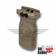 FMA AIRSOFT TAN RVG RAIL VERTICAL GRIP FORWARD FRONT GUN GRIP RIS AIRSOFT AEG