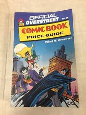 1989 Official Overstreet Comic Book Price Guide #19 Batman The Joker cover