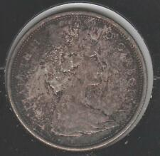 1967 TONED ABOUT UNCIRCULATED Canadian Half Dollar #1