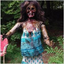 Unique Life Size Female Zombie Corpse by US Horror Artist Collectible