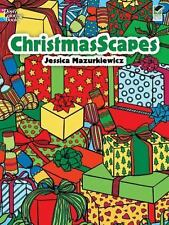 ChristmasScapes (Dover Colouring Books)