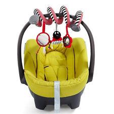Multifunctional Baby Kids Car Pram Hanging Bell Bed Crib Stroller Plush Toy Gift