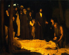 The Resurrection of Lazarus    by Henry Ossawa Tanner  Giclee Canvas Print Repro