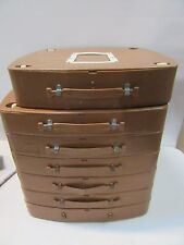 lot of 7 16mm Feature Films Storage Containers.