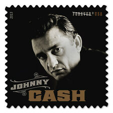 USPS New Johnny Cash Forever Self-Adhesive Stamp Sheet of 16