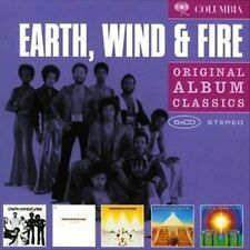 EARTH, WIND & FIRE 5CD NEW That's Way Of World/Gratitude/Spirit/All In All/I Am