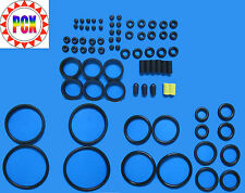 Spare Black Rubber Ring Kit - Rubber Rings, Flipper Rubber, Sleeves and More!