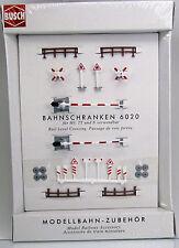 Busch 6020 Motiv-Set: Der Bahnübergang Nebenstrecken HO