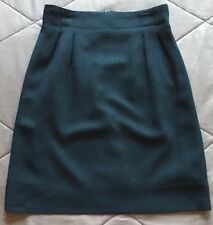Christian Dior Women's Size 12 Black Straight Pencil Skirt