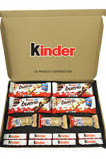 The Ultimate Kinder Gift Box - Bueno, Bueno White, Happy Hippo & More - 15 Items
