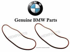BMW E46 (99-06) Headlight Lens Gasket (x2 seals) Rubber Sealing Weatherstrip