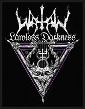 Watain - Lawless Darkness Patch Aufnäher Black Metal Satan  The Wild Hunt NEU