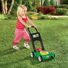 Little Tikes Kids Lawn Mower Toy Push Pretend Play Outdoor Garden Activity Fun