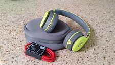 Authentic Apple Beats by Dre Solo 2 Wireless Bluetooth Headphones Shock-Yellow !
