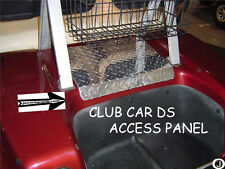 Club Car DS Golf Cart Diamond Plate Access Panel