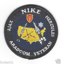 NIKE - Ajax / Hercules  ARADCOM VETERAN - SEW on PATCH - FREE DELIVERY in USA