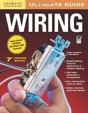Ultimate Guide Wiring, 7th edition (Home Improvement) Book By How-To Paperback N