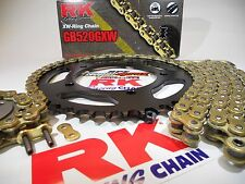 2008-2016 Honda CBR1000RR RK GXW Gold 520 Quick Accel Chain and Sprocket Kit
