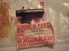 KAWASAKI KZ400/250/200/KL250/KLX/KLT EXHAUST VALVE GUIDE NOS!