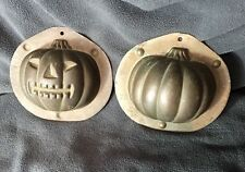 "Reiche•Vintage Chocolate Candy Mold•Halloween Jack O Lantern Pumpkin•3.25""•Mould"