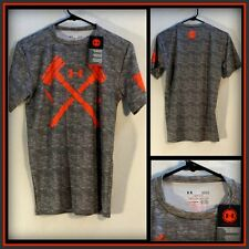 Under Armour COMBINE Gray S/S Compression Athletic/Workout Shirt (L) Large#8027