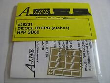 A-Line HO #29231 Diesel Steps (Etched Brass) RPP SD60 Proto Power West